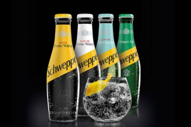 schweppes unveils new bottle design