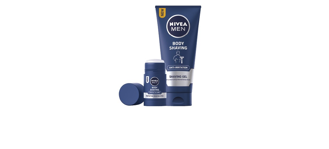 NIVEA MEN Protect & Care Borotva Stift Testre /NIVEA MEN Protect & Care Borotvagél Testre