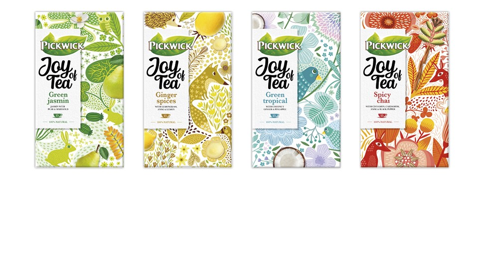 Pickwick Joy of Tea