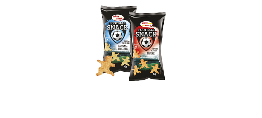 WHITE SNACK FOOTBALL SNACK